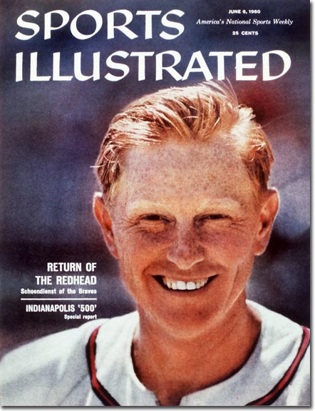 Red Schoendienst  June 6, 1960 X 6662 credit:  John G. Zimmerman - staff